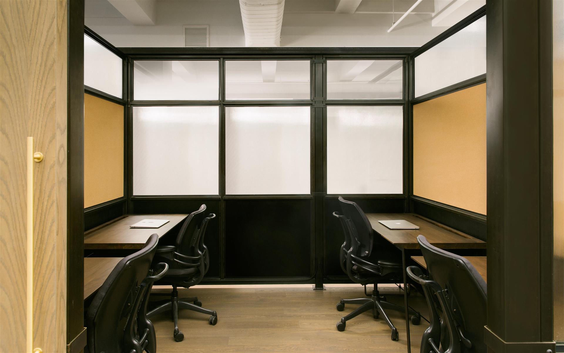 BLENDER WORKSPACE - 4 Desk Private Office Suite