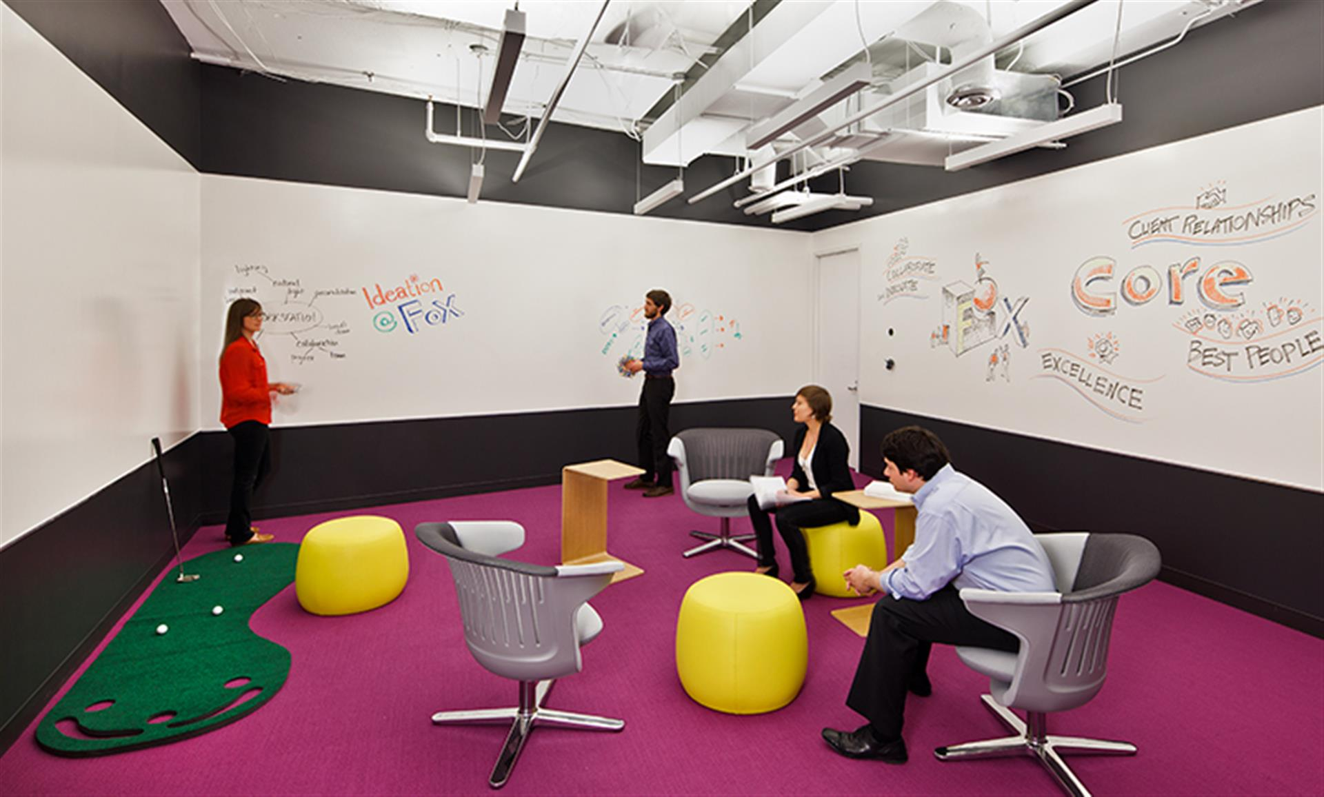 FOX Architects - The Ideation Room