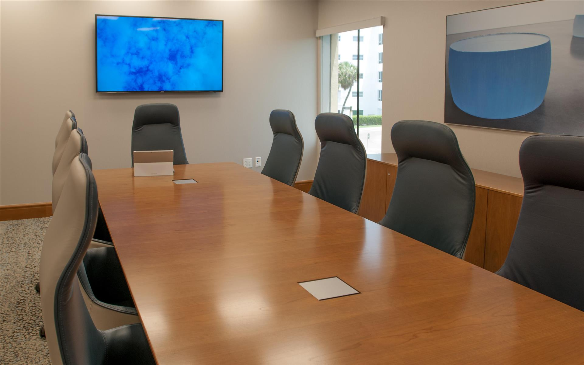 Symphony Workplaces - Palm Beach - Ocean Board Room