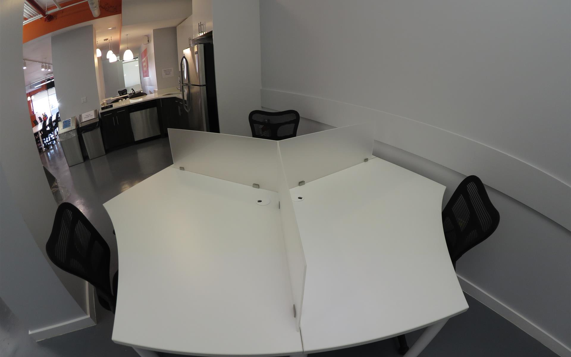 TEEM Coworking - Harlem NYC - Semi-Private Desk