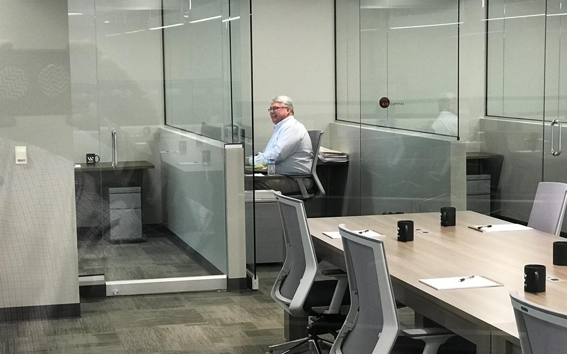 Workuity - 1 - Person Glass Office