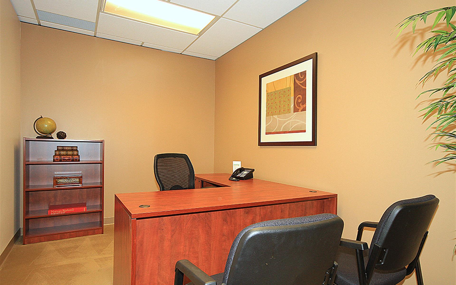 (BV2) Plaza Center - Interior Office