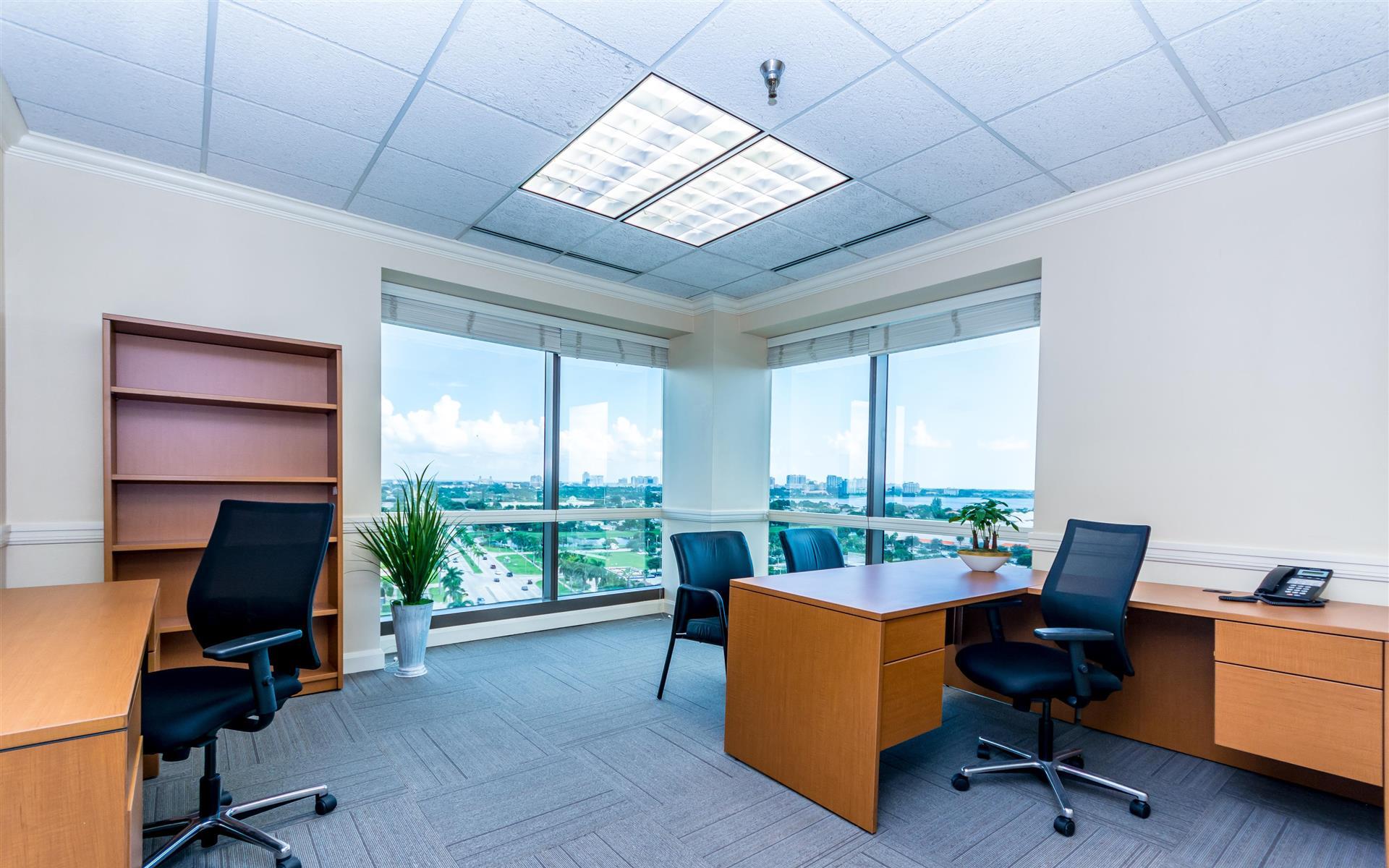 Zen in West Palm Beach - Corner Office