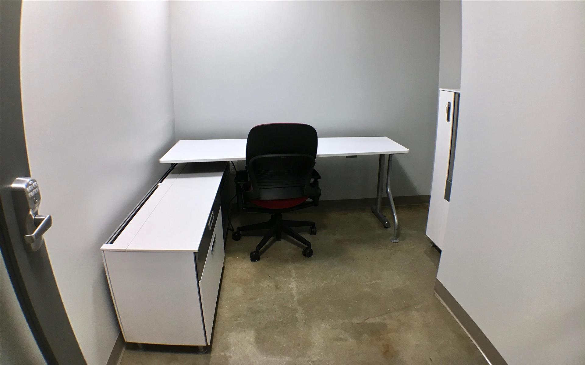 Benjamin's Desk - 30 North 41st Street - Private Office - White