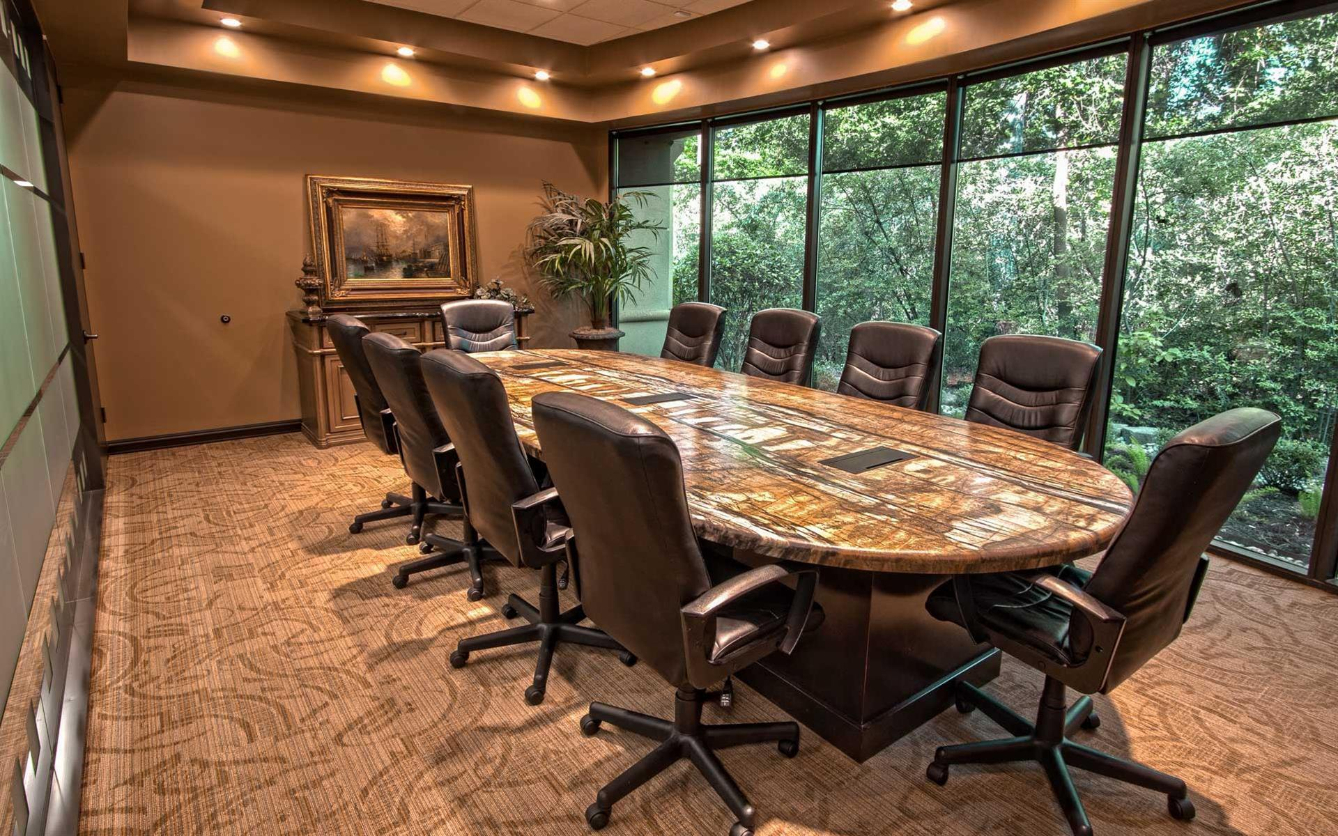 The Woodlands Office Suites - Executive Boardroom