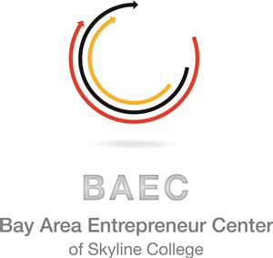 Logo of Bay Area Entrepreneur Center (BAEC) of Skyline College