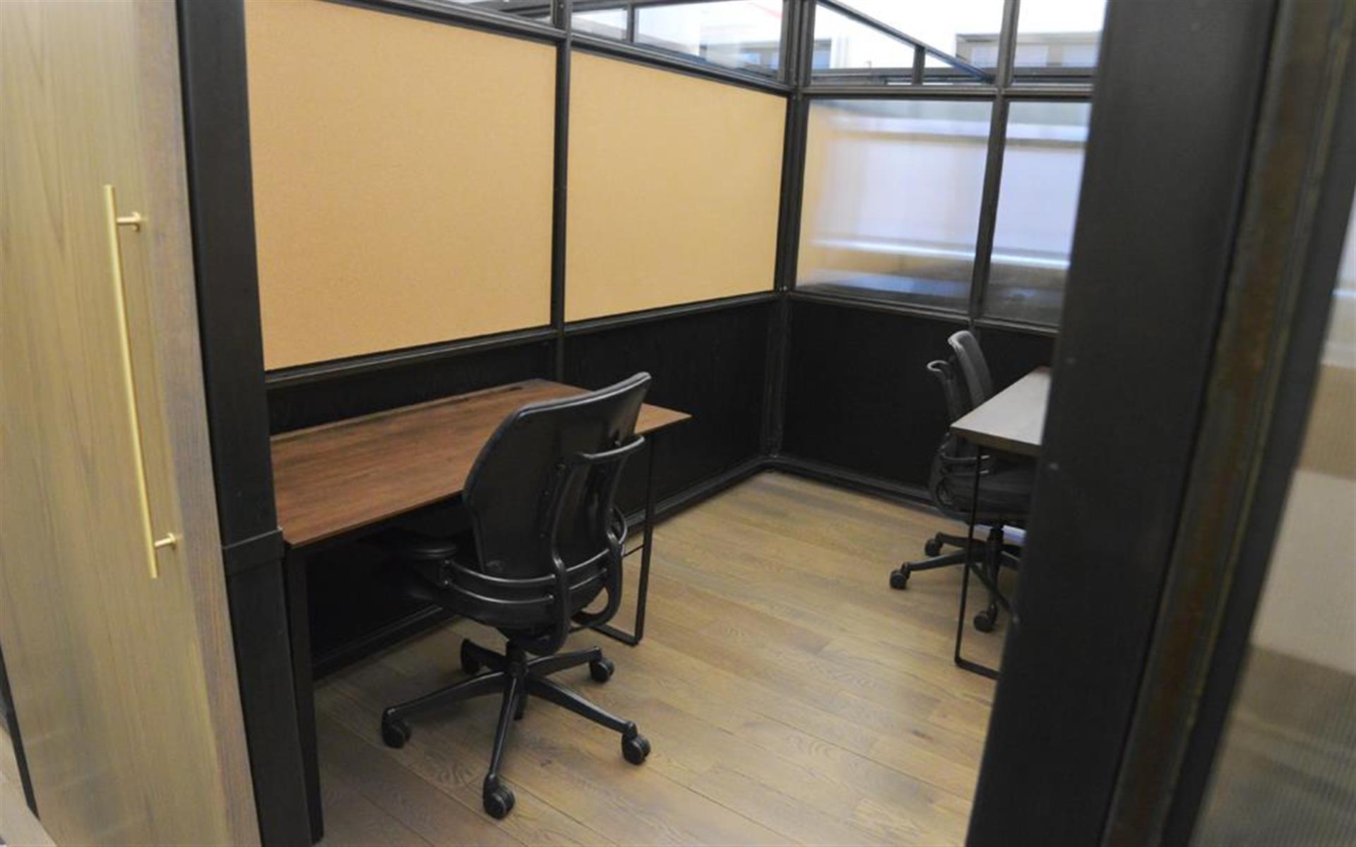 BLENDER WORKSPACE - 2 Desk Private Office