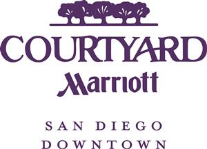 Logo of Courtyard by Marriott San Diego Downtown