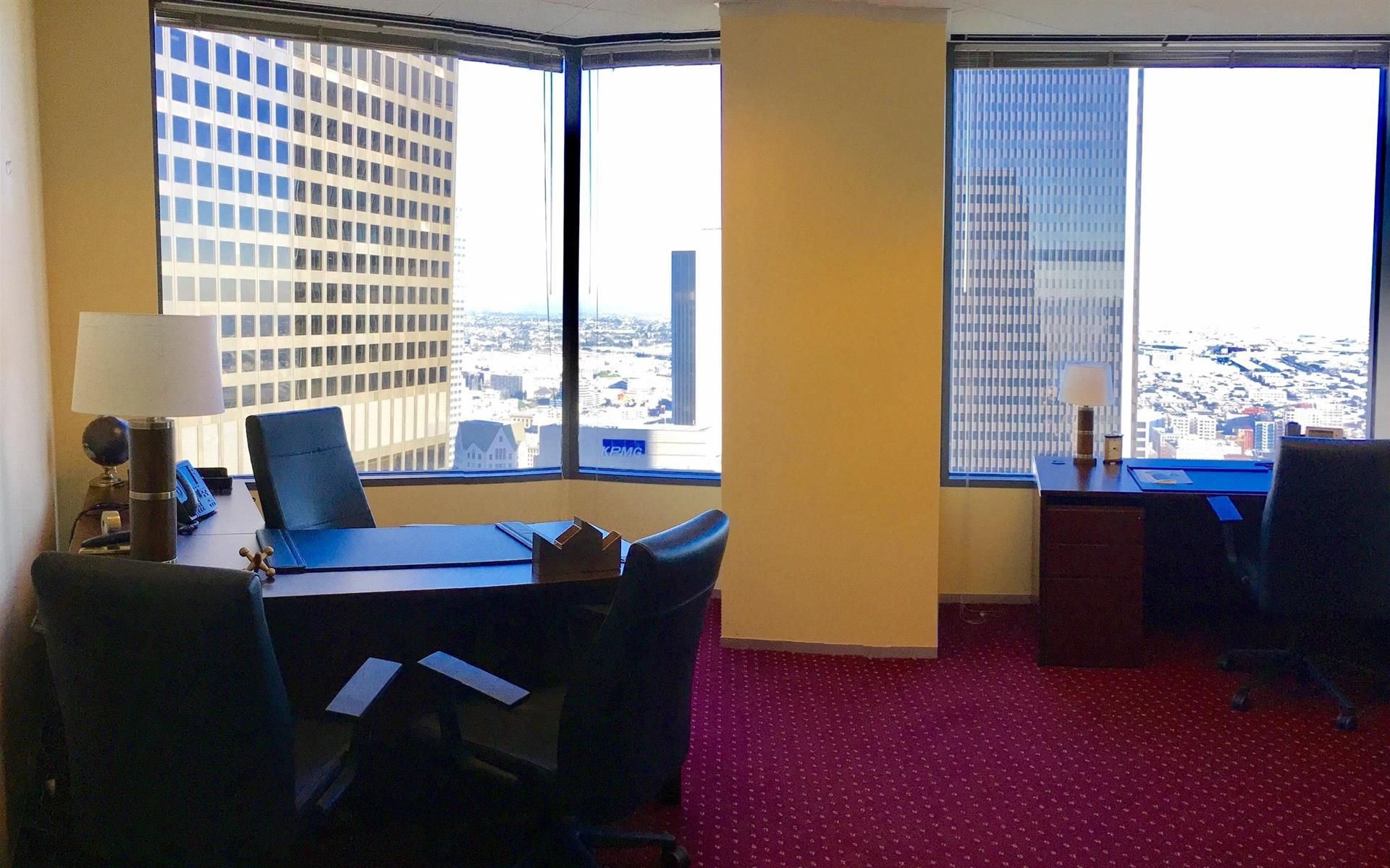 Servcorp - Downtown Los Angeles - 3 Person Office w/ View (Suite 4)