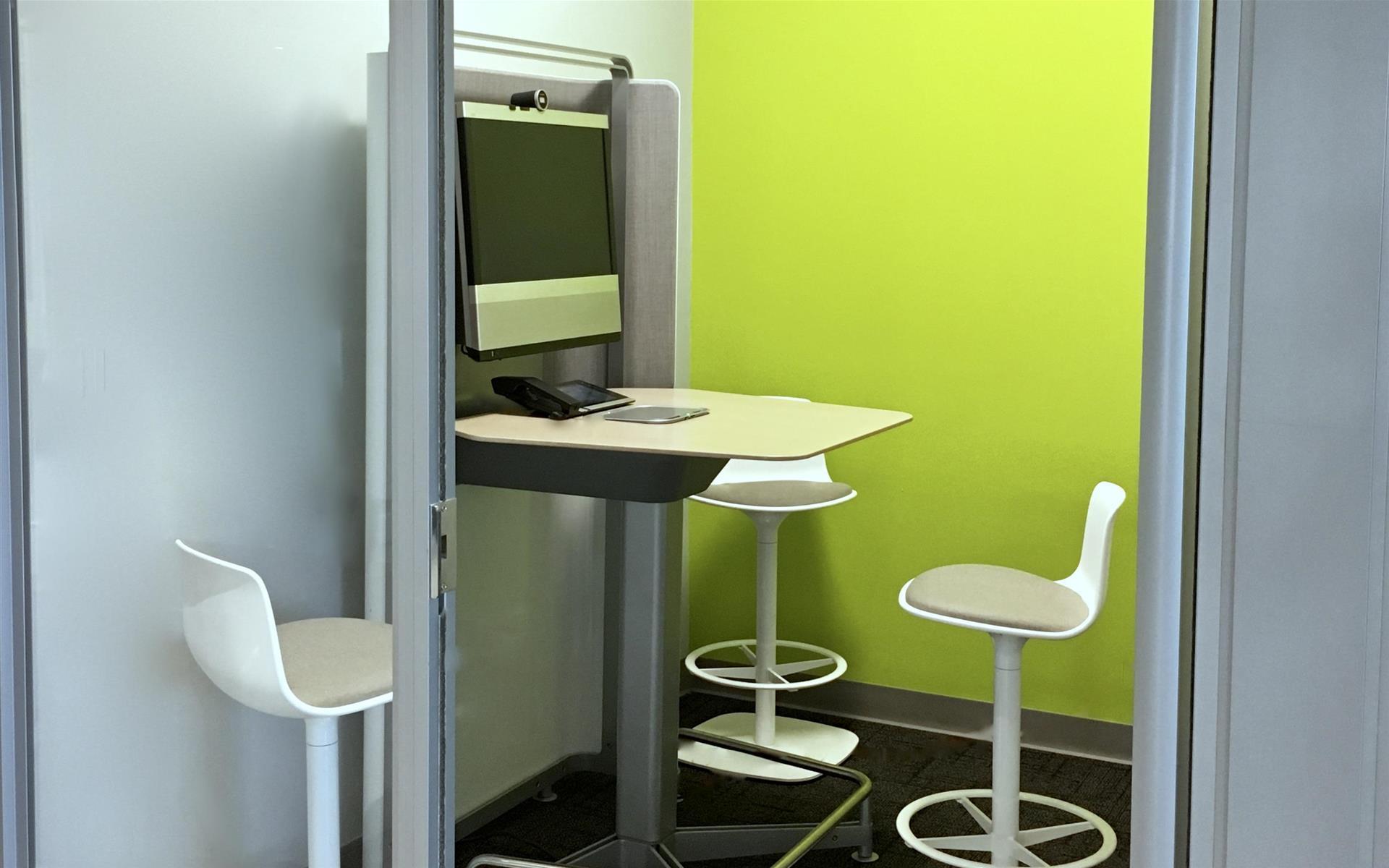 Benjamin's Desk - 30 North 41st Street - Private HD Video Conference Room