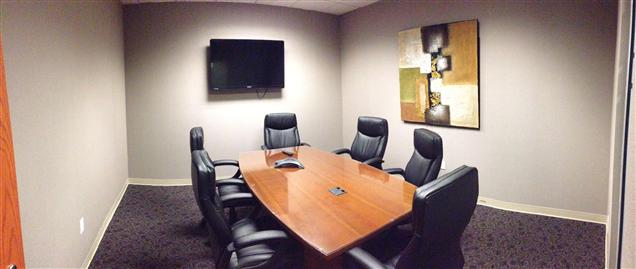 Office Space & Solutions Virginia Beach - Tidewater Conference Room